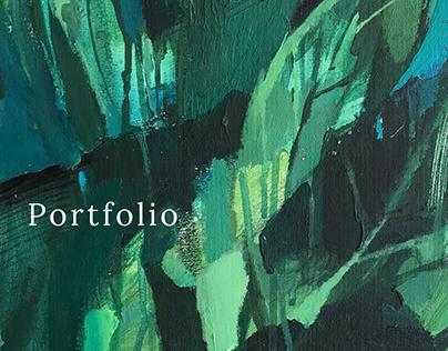 Portfolio for the artist