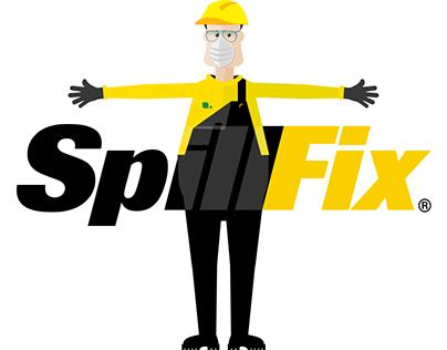 SpillFix logo Morph