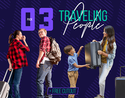 Traveling People Cutouts
