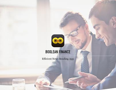 App Design - Boolean Finance