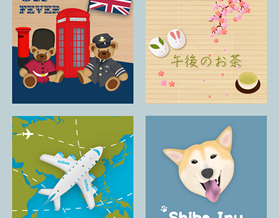 Illustrations for KKBOX Theme Store