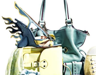 Still Life Fashion Editorial - LuxWoman