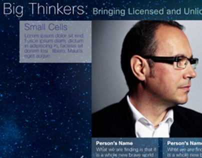 Cisco Big Thinkers in Small Cells