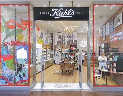 Kiehl's store in Manufaktura / Łódź