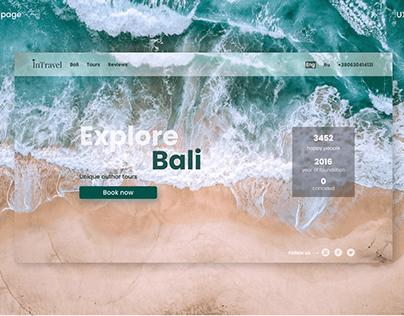 Travel Agency Landing Page | Explore Bali