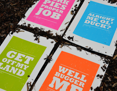 West Country Dialect Prints