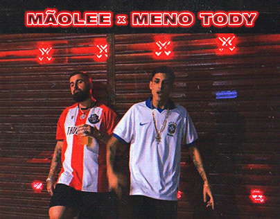 MÃOLEE X MENO TODY - OUTRA VEZ (SINGLE COVER)