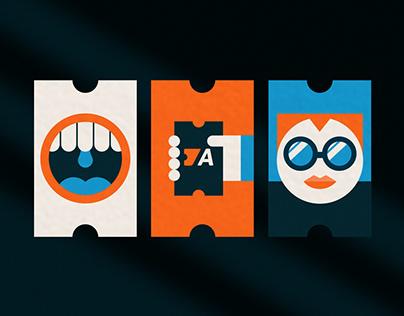 TIcket Action - Brand Design