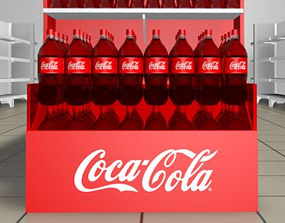 Ponta de Gondola - Coca-Cola