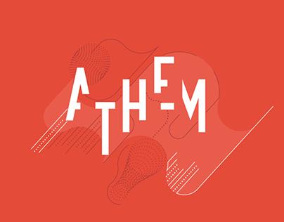 Athem - Identity, book, website, typography