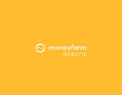 Moneyfarm: Website