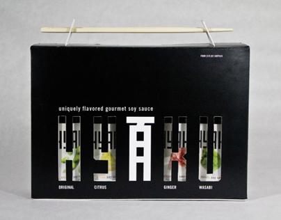 Hyaku Soy Sauce Packaging