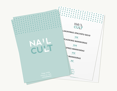 Nail cult beuty centre