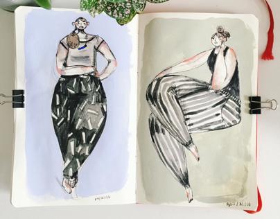 Sketchbook March - June