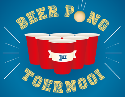Event poster - beerpong
