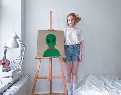 MY ART / MY ALIEN