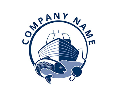 Logo Design in Fishery and Maritime