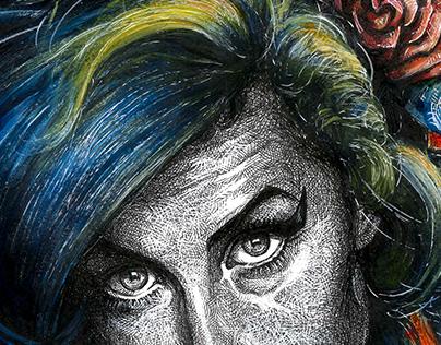 Amy Winehouse, British singer