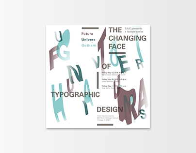 Typography | Lecture Series