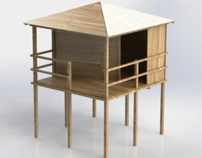Children hut