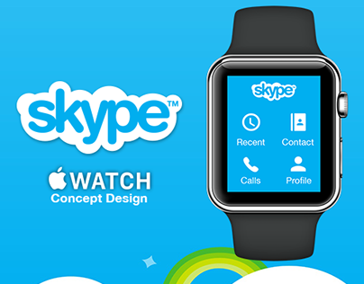 Skype for apple Watch | Redesign Concept