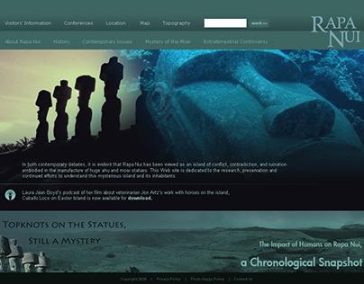 Website Design: Banded Layout