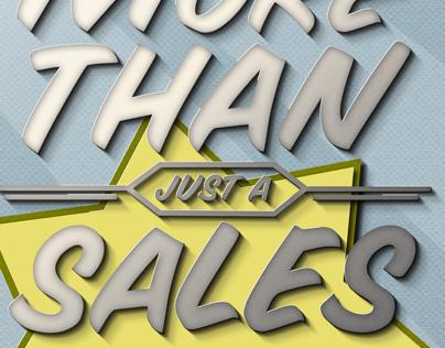 More than a sales pitch
