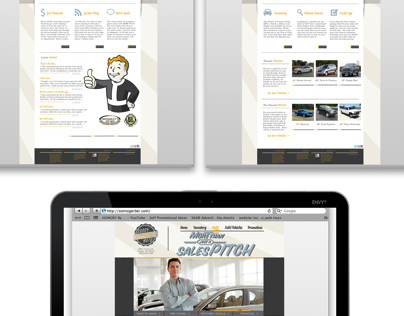 Sonny Gerber Auto Website