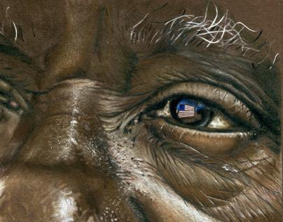 Alan C. Peak Portrait Illustration