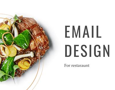Email marketing for restaraunt «Турандот»