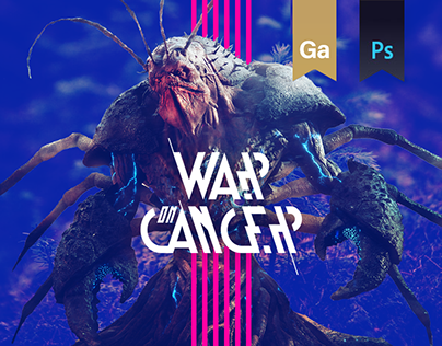 War On Cancer - Charity Mobile Game - UI Design