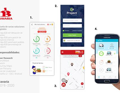 UI UX Soluciones digitales internas Bavaria