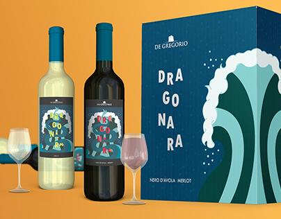 Dragonara - wine label