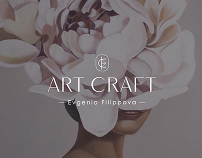 Логотип для личного бренда художницы