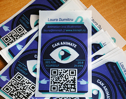 CAnimation Business Cards