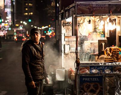 Hotdog in NYC