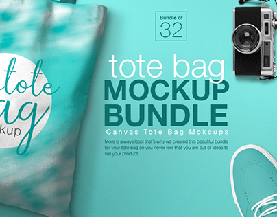 Mockup Bundle | Tote Bag