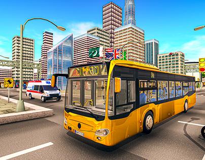 bus simulator game screenshots
