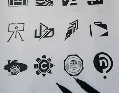 Logos by Hakpro for small businesses and start ups