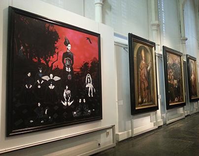 NOCTURNE, Museum Gouda, 2014-2015 B S Jansdotter