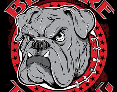 Beware the Dog Shirt Design