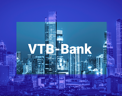 Main Page of VTB Internet Banking Redesign