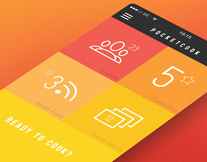 PocketCook - App Design