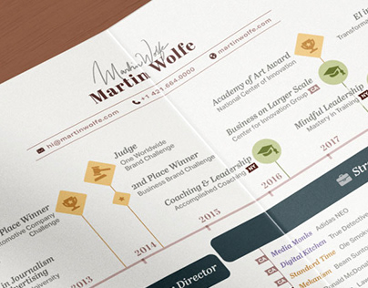 CV Timeline Dataviz