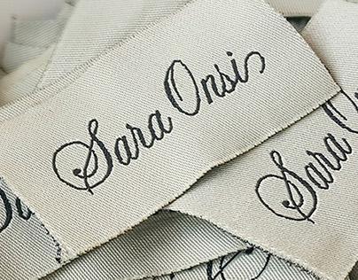 Sara Onsi Atelier // Branding