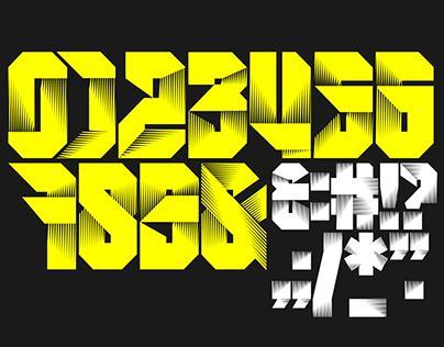 New Font: Robu Sport Numerals