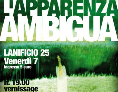 Apparenza Ambigua - Poster