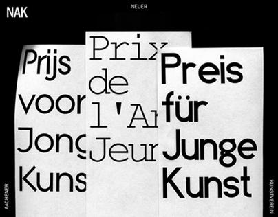 NAK 'preis für Junge Kunst' poster