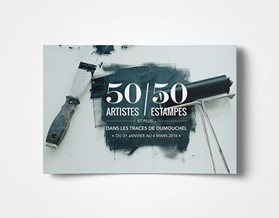 50 artistes / 50 estampes et plus...