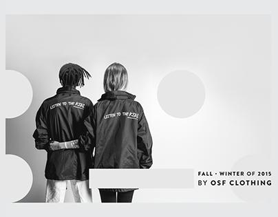 Fall Winter 2015 // OSF Clothing lookbook